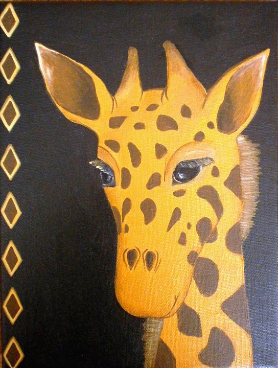 Giraffe - Art by Yany