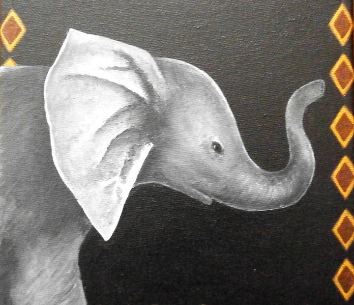 Elephant - Art by Yany