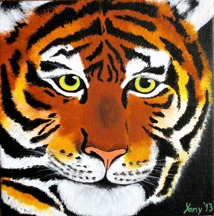 Tiger - Art by Yany