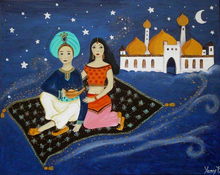 Arabian night - Art by Yany