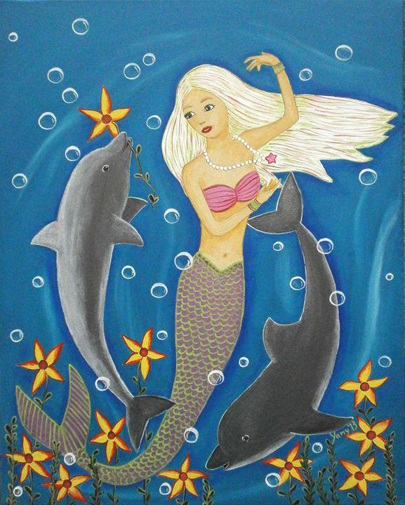 A little mermaid - Art by Yany