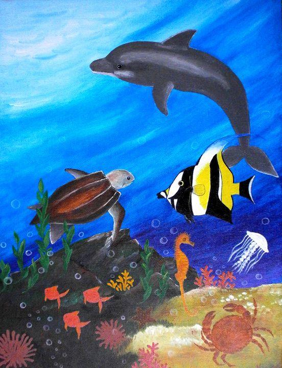 Aquarium in my room - Art by Yany