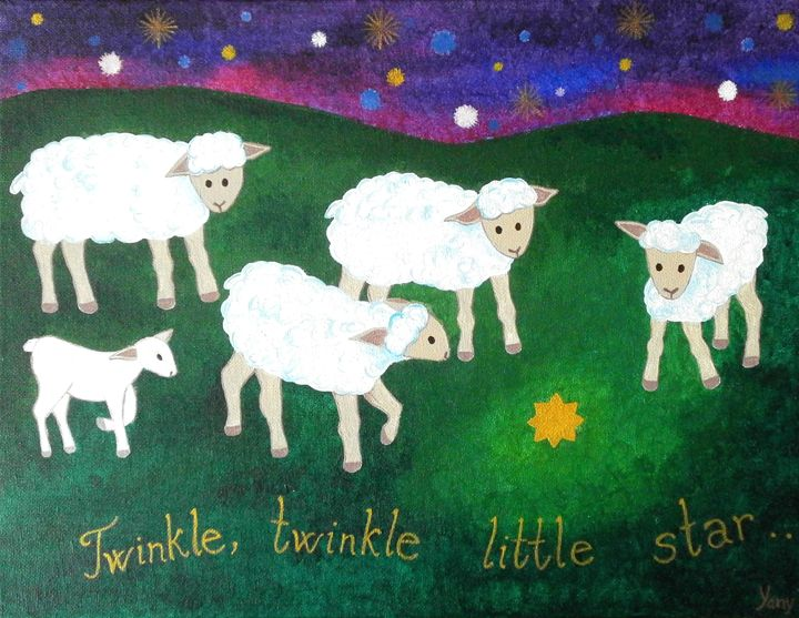 Twinkle,twinkle little star - Art by Yany