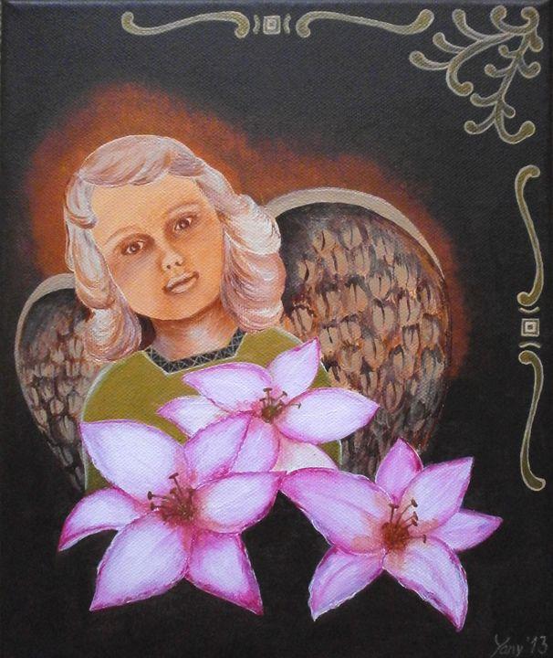 A guardian angel - Art by Yany