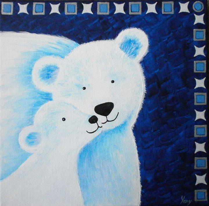 The bear s love - Art by Yany