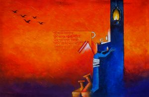 When Nature Whispers - Amar Singha Paintings