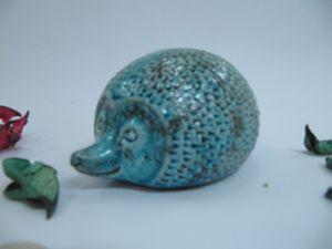 ceramic hedgehog