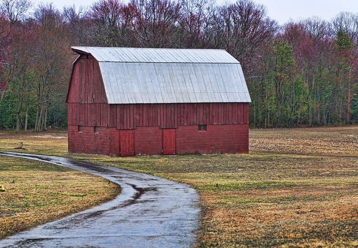 Red Maryland Barn - Lady Lea Photography