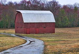 Red Maryland Barn