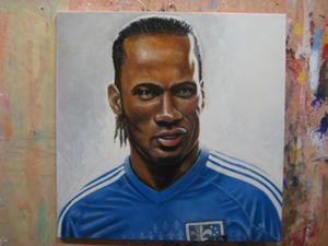 Didier Drogba, stadium god!