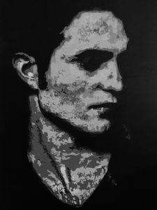 Edward Cullen B&W
