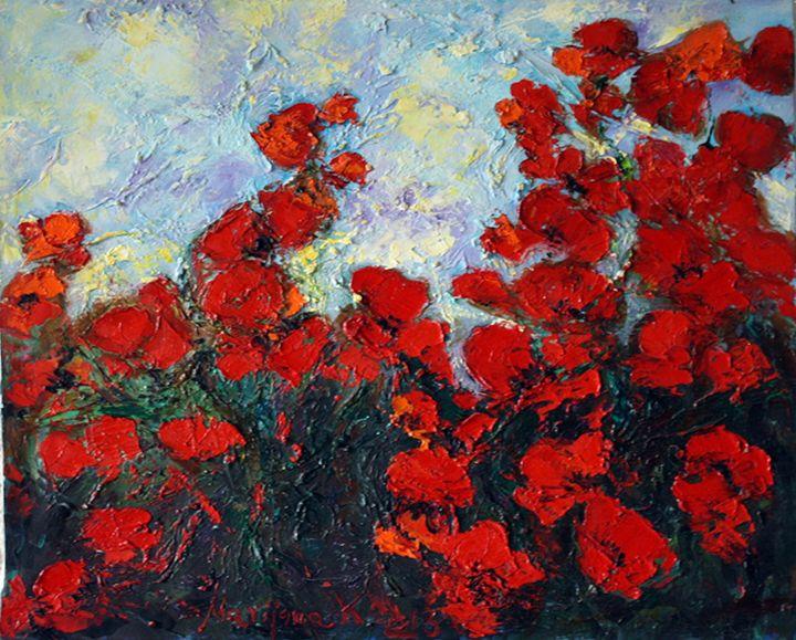 Poppy flowers - Moor