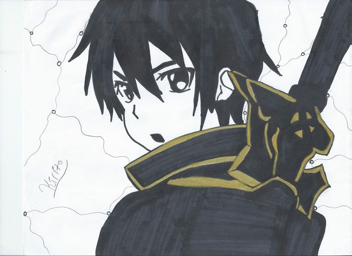 Kirito SAO - Andrea Gravener
