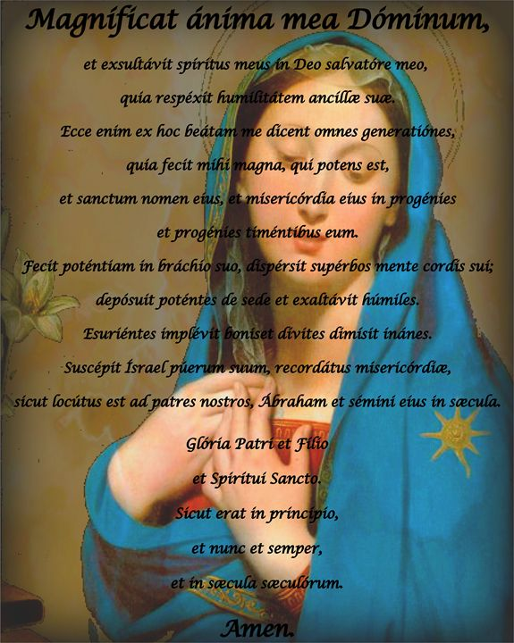 Magnificat, The Song of Mary - Rare Art Prints