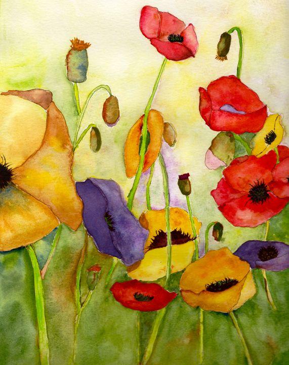 Poppin Poppies - Teresa Tilley
