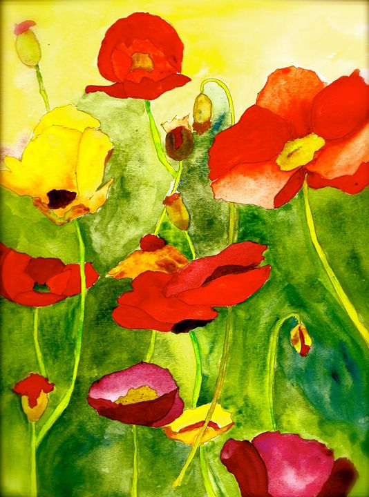 Poppin Poppies2 - Teresa Tilley