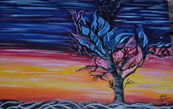 Abstract Tree - Photo & Art Buzz