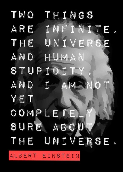 Albert Einstein Quote - SamKal
