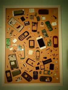 Cell Phone Collage