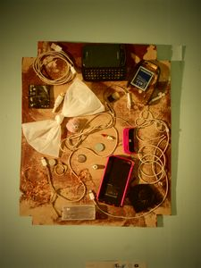 Electronic Waste Collage