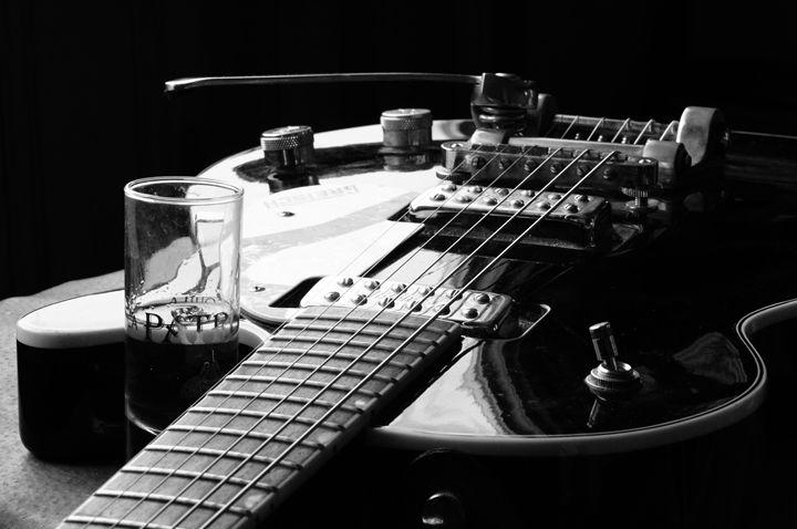 Guitar and Tequila 1 - Bohemian Eye Photography