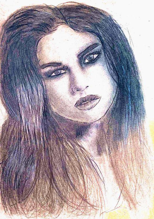 Selena Gomez - Pencil & Paper