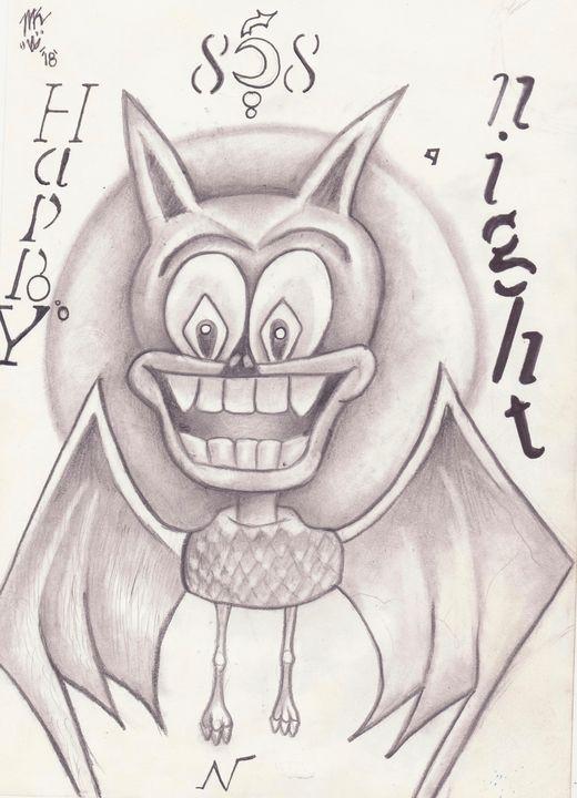 Dog Bat - Savvy_Vigor Art Space