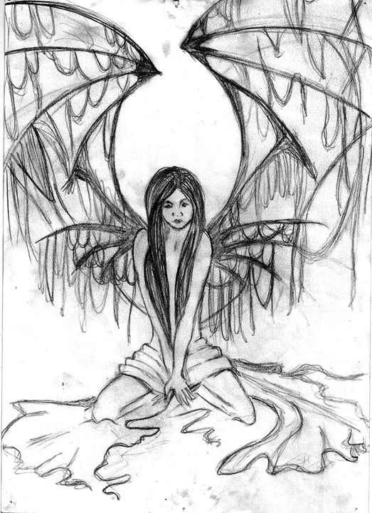 Dark Angel - Art Drawings