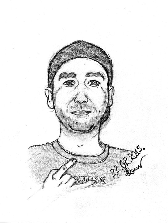 Eugene Drummer - Art Drawings