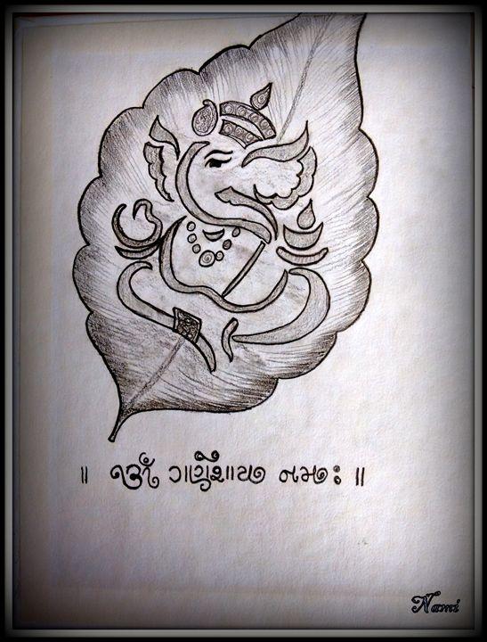 Lord Ganesha - Nami's colorline