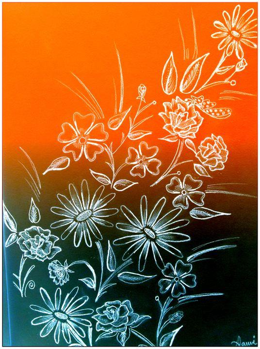 Flower art - Nami's colorline