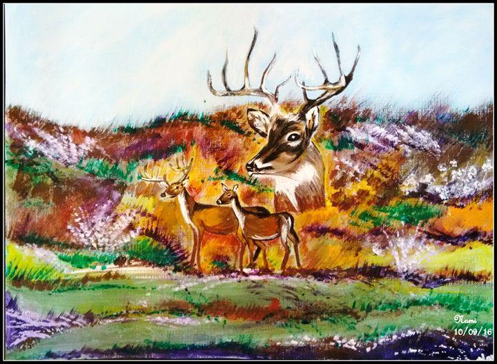 Innocent deers - Nami's colorline