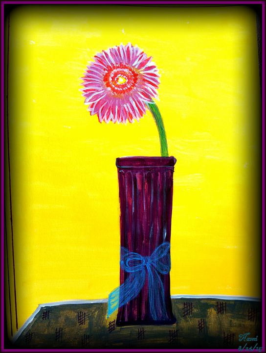 Still-life Flower Vase - Colors Up Your Life