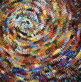 Huile sur toile hypnotisante