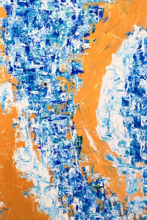 Desde el Mediterráneo - Annie's Abstract Gallery