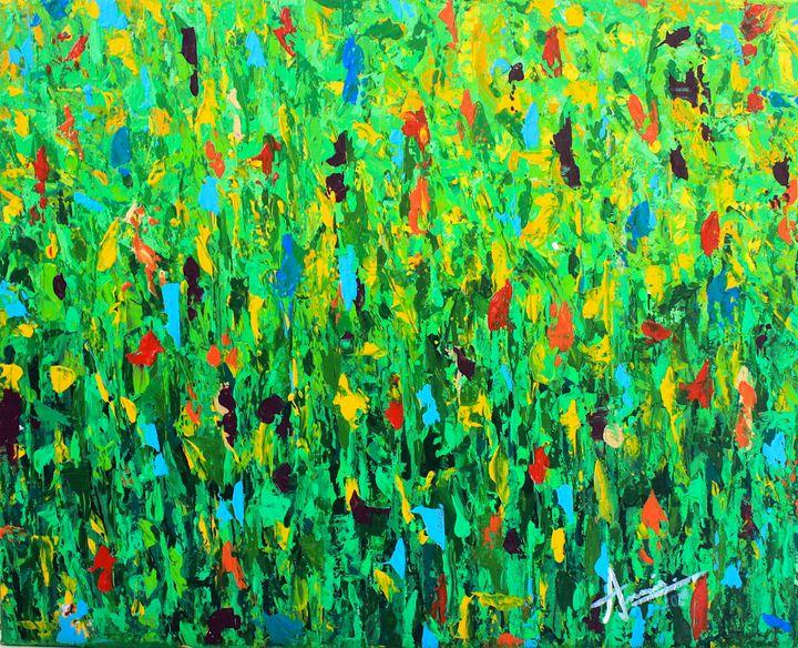 El Jardín - Annie's Abstract Gallery