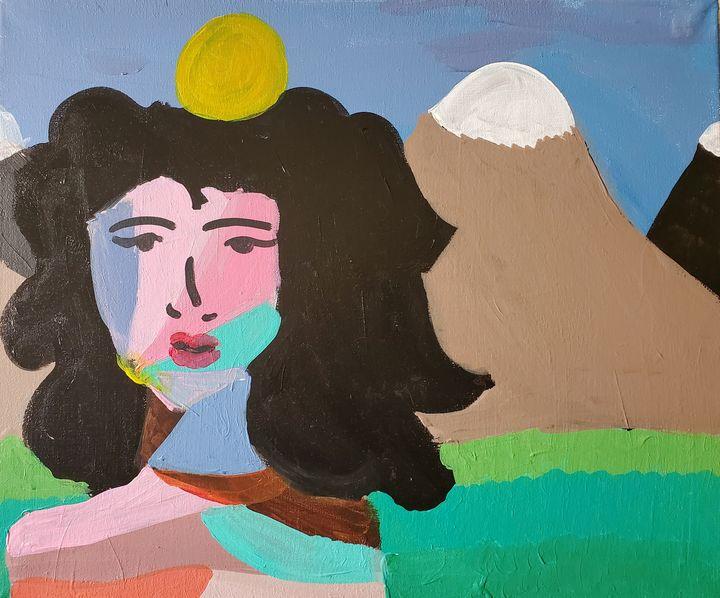 In the mountains - Reyna Vera Prieto