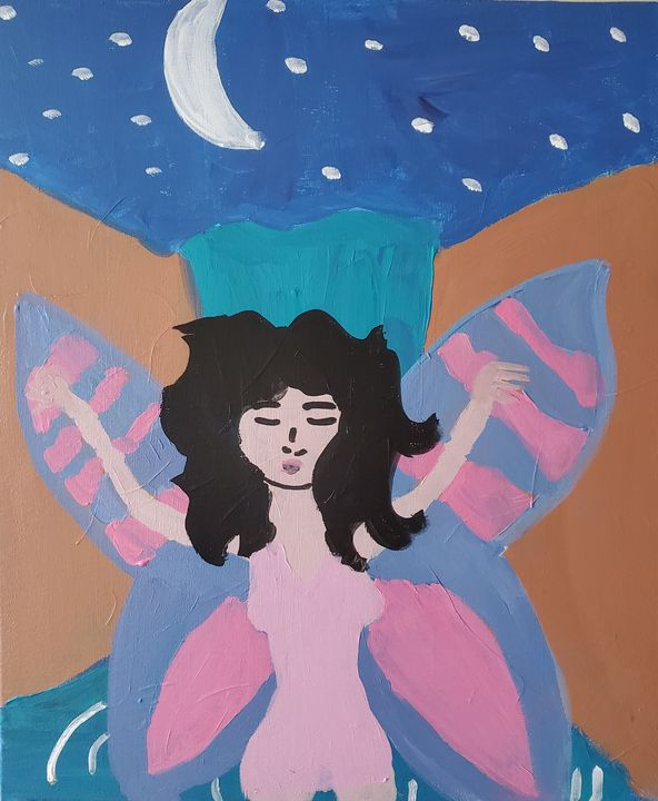 Untitled fairy - Reyna Vera Prieto