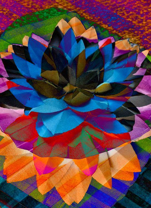 Lotus Flower - Artistic Humour
