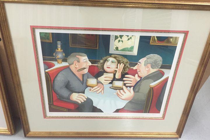 Russian Tea Room - Beryl Cook