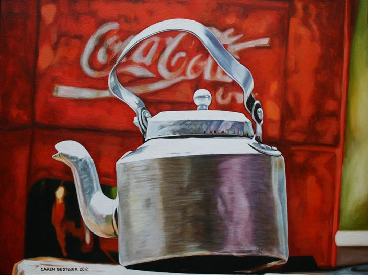 Coke and Tea - Caren Bestbier Art