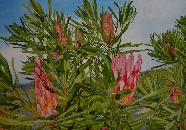 Proteas 2 - Caren Bestbier Art