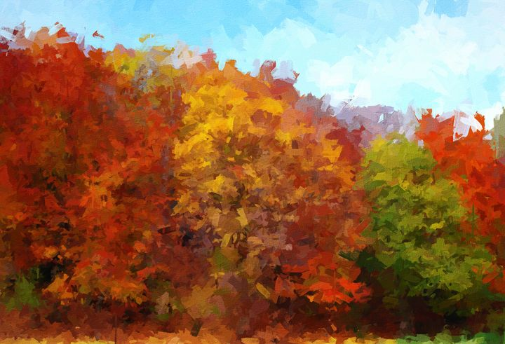 Beautifull Autumn - Chandra Tusdiana Art