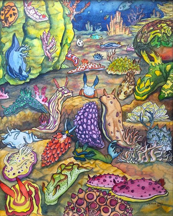 Garden of Nudes - Jessica Orfe