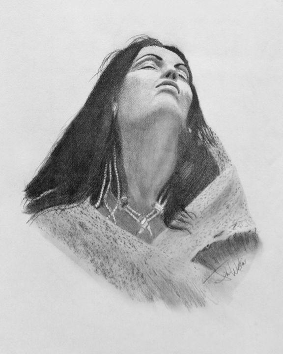 Indian Princess - Jim Watkins Art