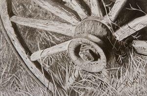 Wagon Wheel 1 - Jim Watkins Art