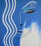 blue women