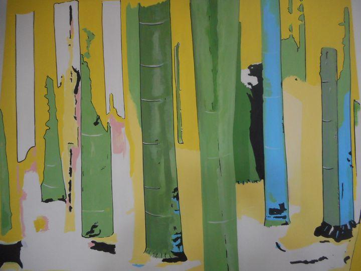 Bamboo forest - Bruce Burt artist