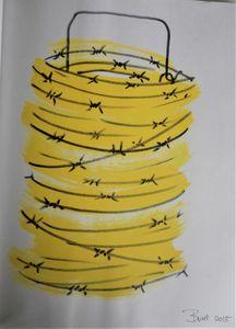 yellow tornado