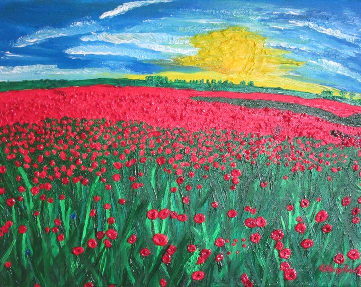 Field of Poppies - TiffanyWright